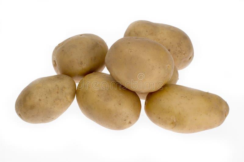 Aardappels stock foto's