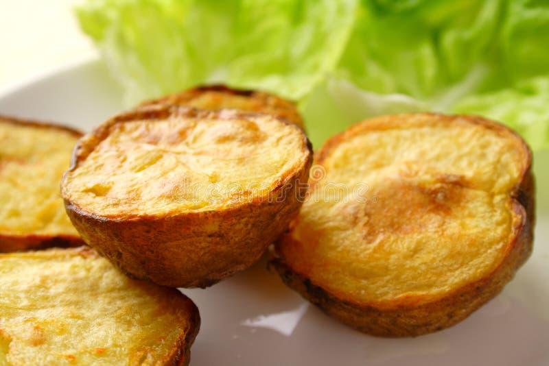 Aardappels stock afbeelding