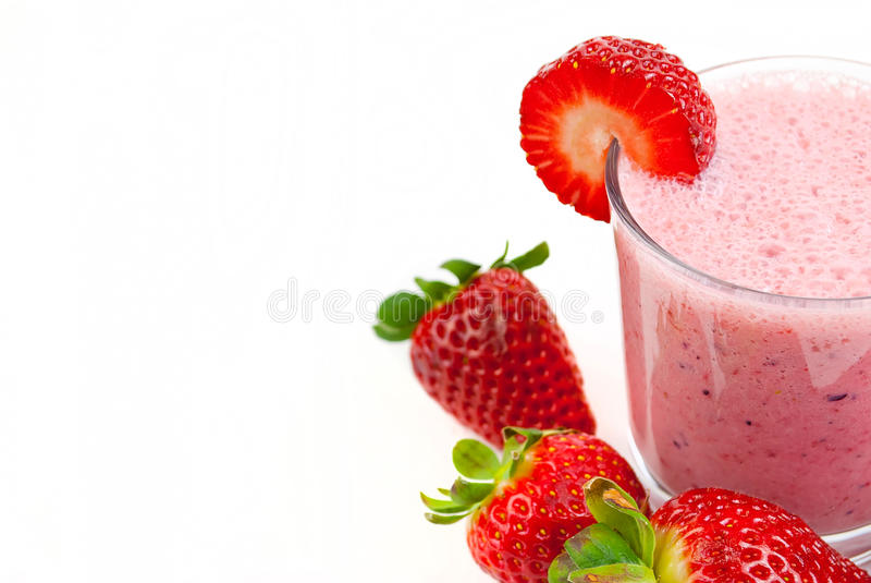 Download Aardbei smoothie stock afbeelding. Afbeelding bestaande uit gastronomisch - 29511799