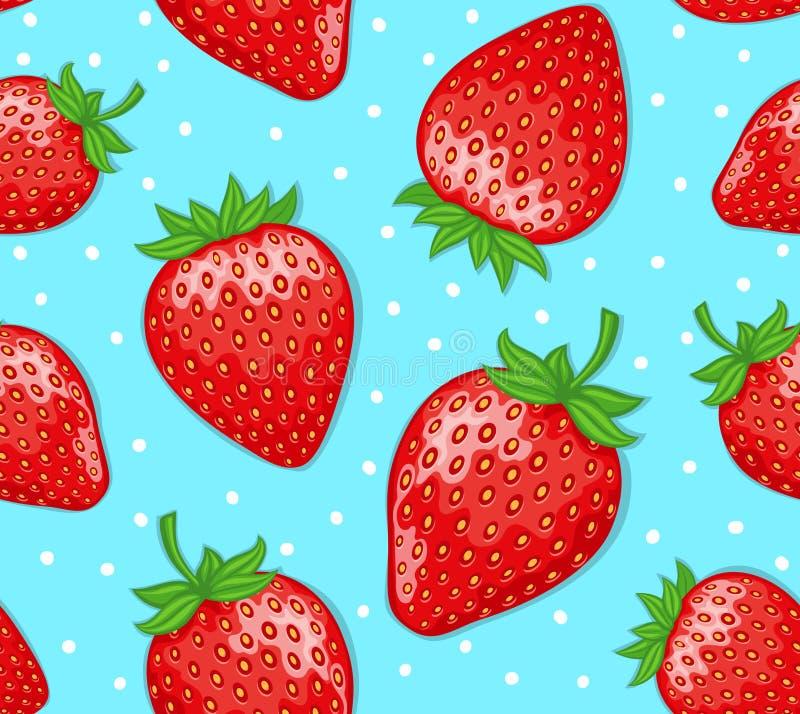 Aardbeien royalty-vrije illustratie