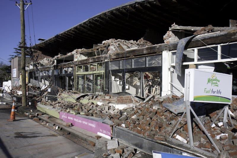 Aardbevings 4 Sep 2010 van Christchurch