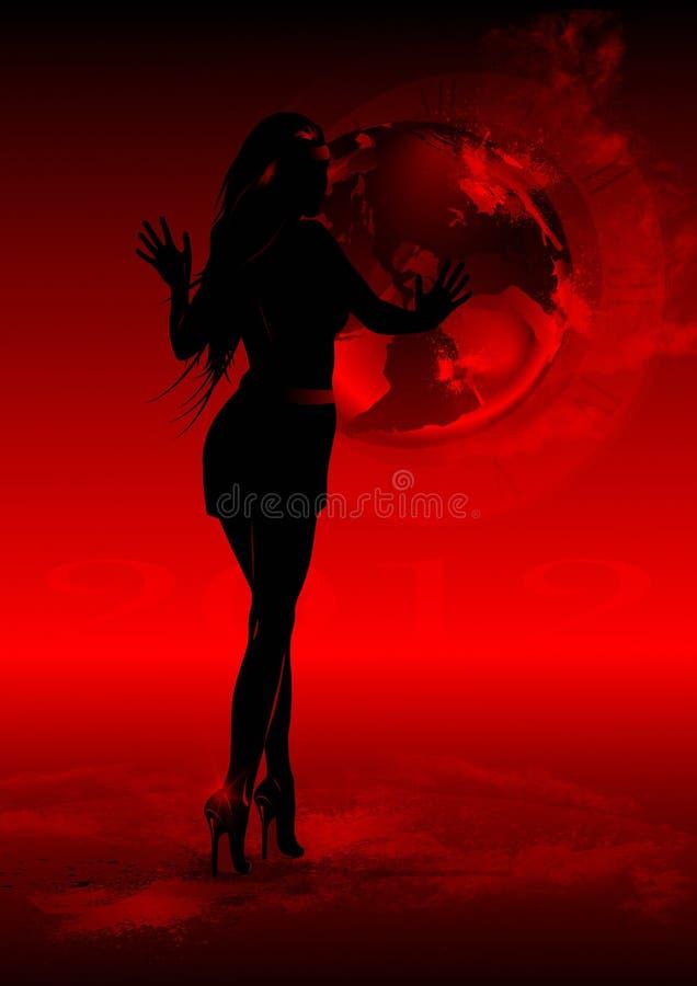 Aarde 2012 royalty-vrije stock afbeeldingen
