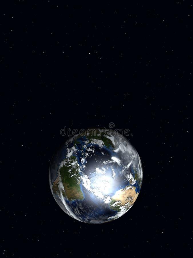Aarde 3 stock illustratie