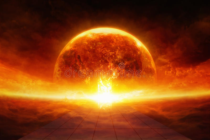Aarde in hel
