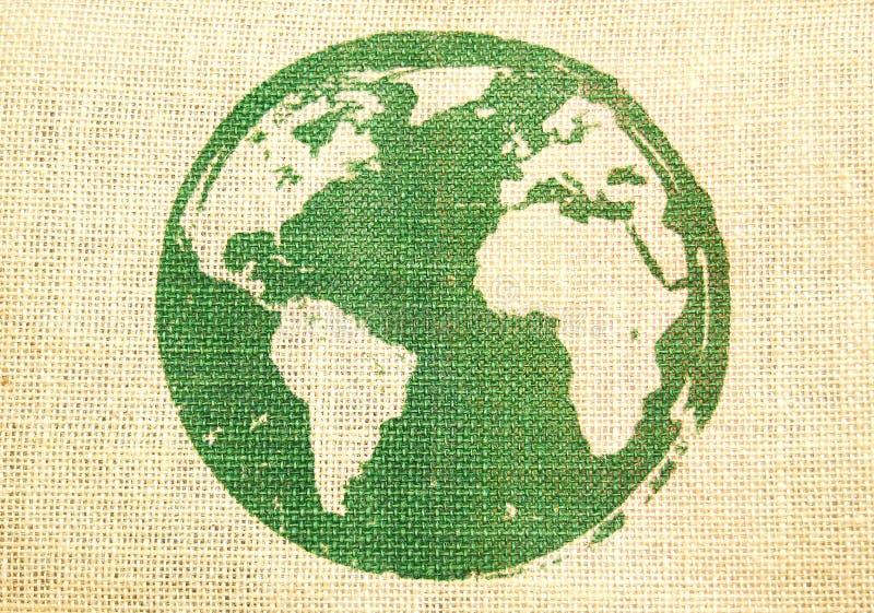 Aarde. Het concept van Ecologic royalty-vrije stock fotografie
