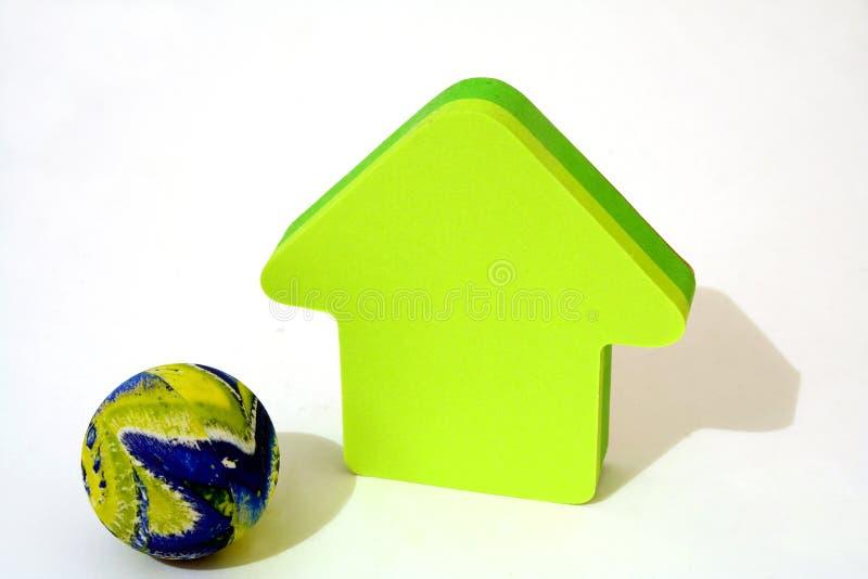 Download Aarde, ons huis stock foto. Afbeelding bestaande uit huis - 278988