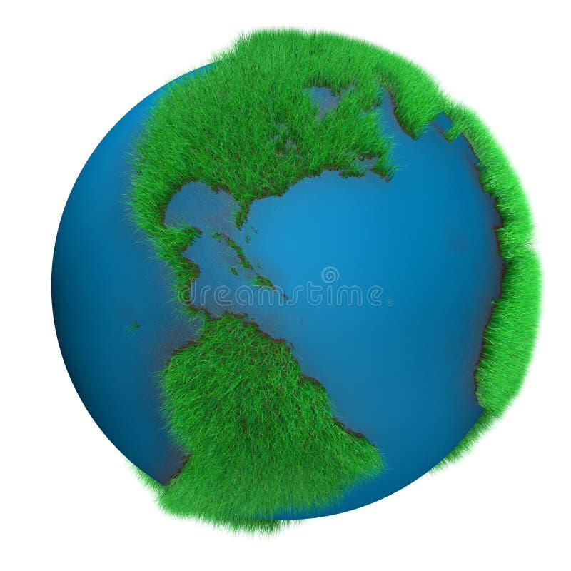 Aarde van Gras royalty-vrije illustratie