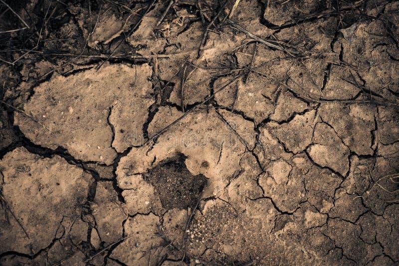 Aarde zonder water stock fotografie