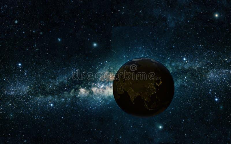 Aardenacht royalty-vrije stock fotografie