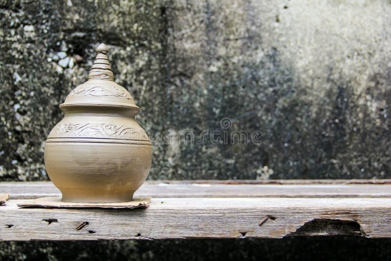 Aardewerk traditioneel van Thailand stock foto