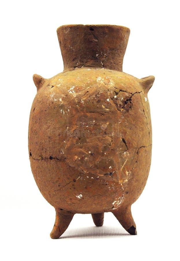Aardewerk van Neolithische leeftijd stock foto's