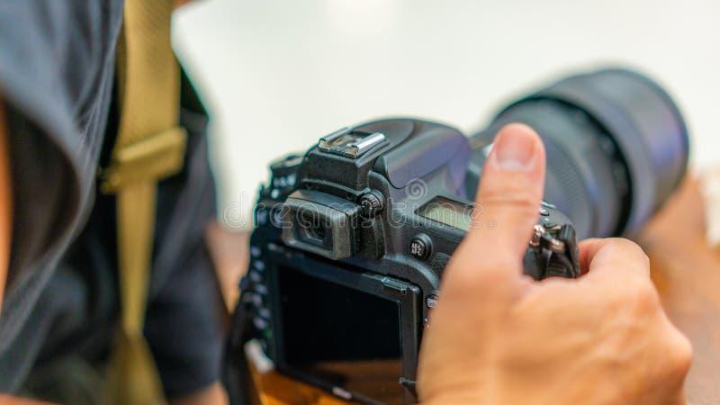 Aardfotograaf With een Natuurlijke Mening royalty-vrije stock foto