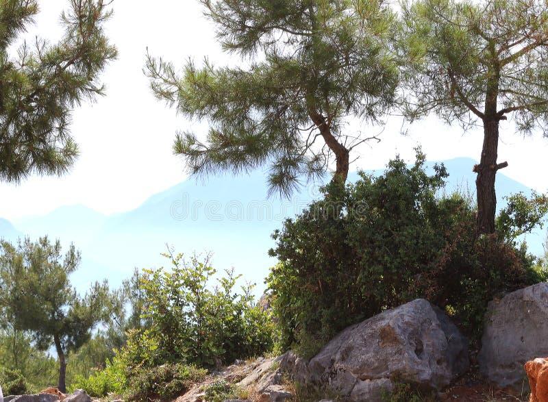 Aardlandschap Turkije stock afbeeldingen