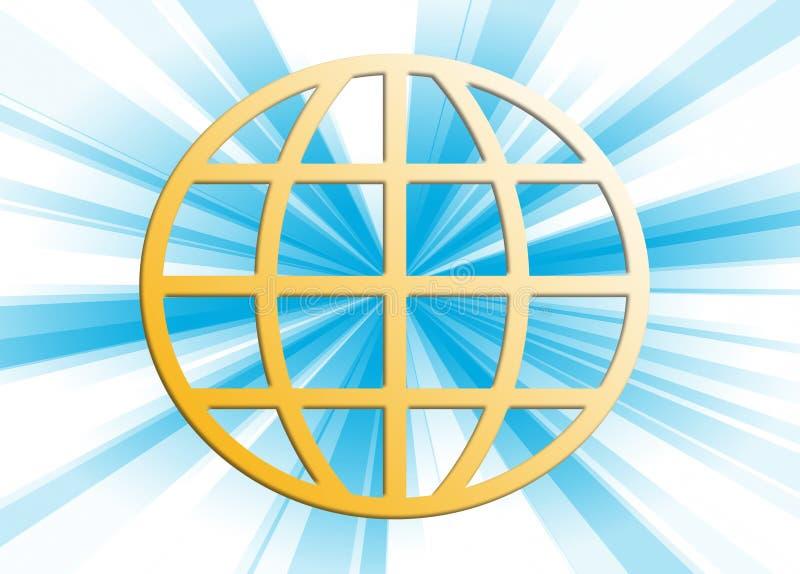 Aards gebied royalty-vrije illustratie