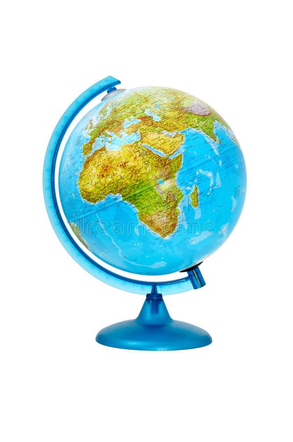 Aardse globaal royalty-vrije stock foto's