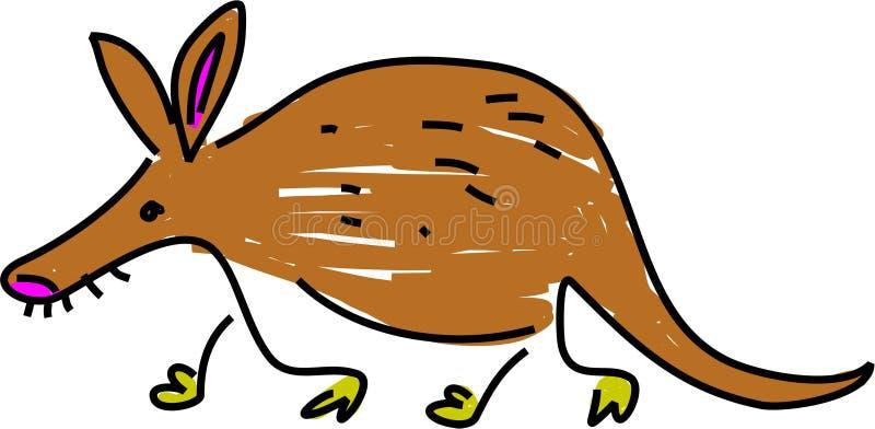 Aardvark libre illustration
