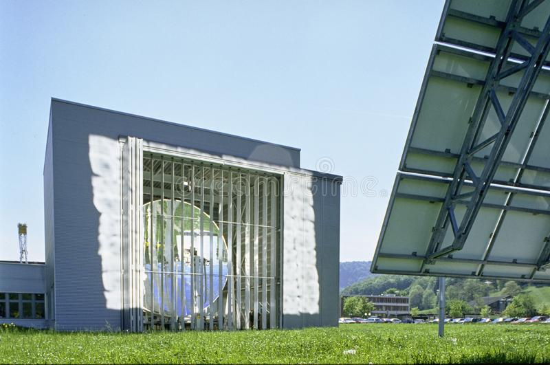 Aargau διεπιστημονικό ερευνητικό κέντρο Villigen ιδρύματος του Paul Scherrer καντονίου εκθέσεων ελβετικό στοκ φωτογραφίες με δικαίωμα ελεύθερης χρήσης