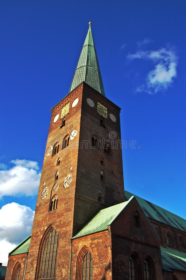 Aarhus Cathedral stock photos