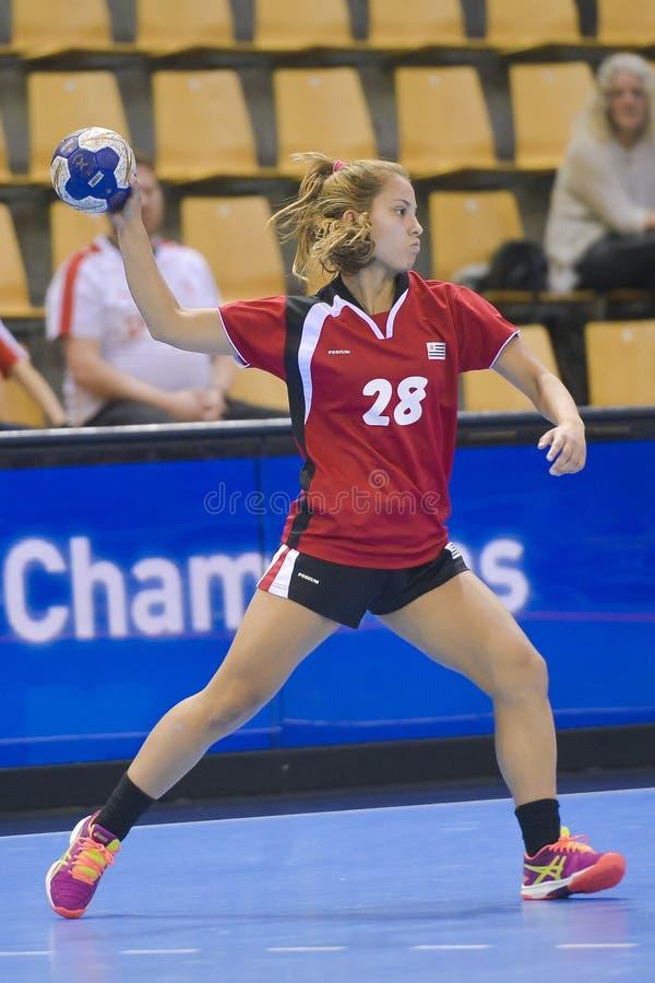 Aarhus, torneo olimpico della qualificazione delle donne fotografie stock libere da diritti