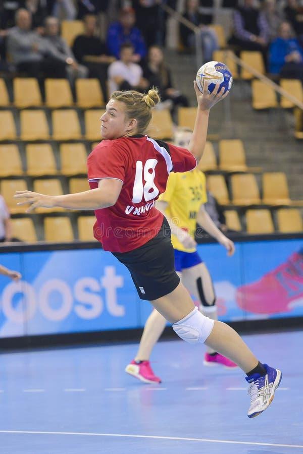 Aarhus, torneo olimpico della qualificazione delle donne immagini stock libere da diritti