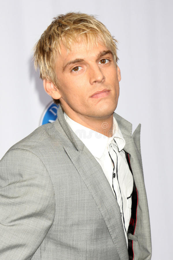 Aaron Carter editorial photography. Image of october