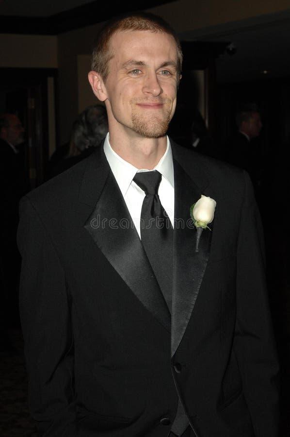 Aaron Dunson an der 23. jährlichen amerikanischen Gesellschaft der Kameramann-hervorragenden Achievement Awards. Jahrhundert-Piazz lizenzfreies stockbild