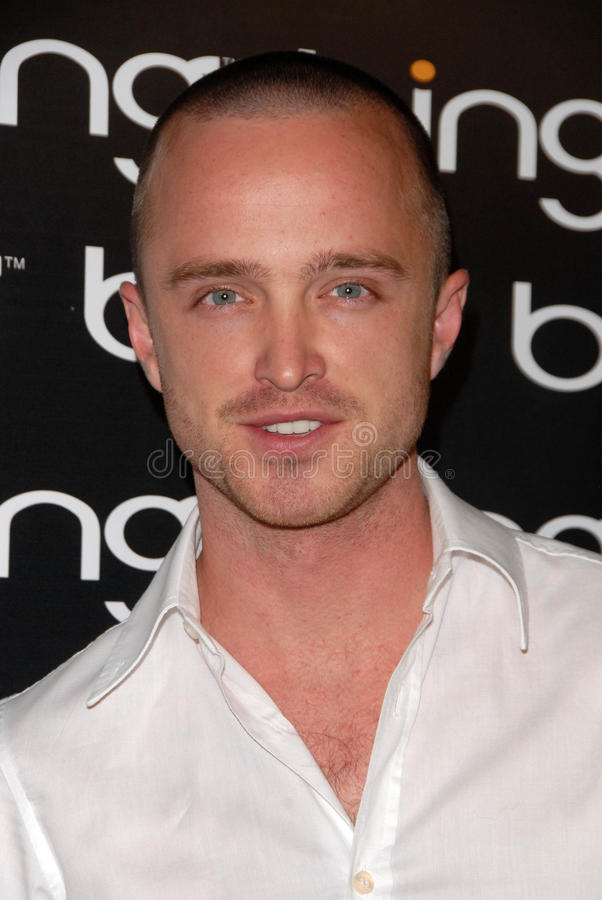 Download Aaron Paul redaktionelles stockbild. Bild von aaron, paul - 26357214