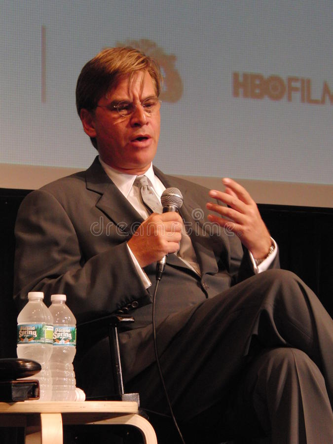 Aaron Sorkin stock photo