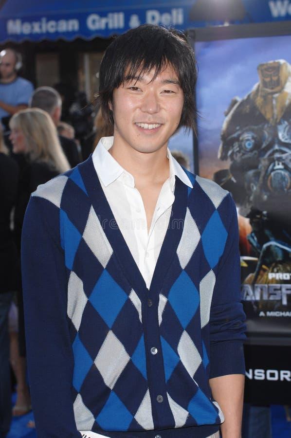 Aaron Yoo imagens de stock