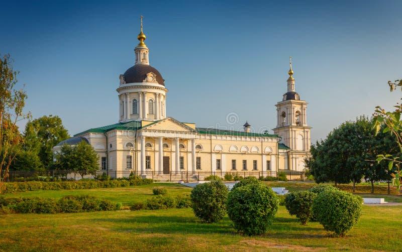 Aartsengel Michael Church, Kolomna, Rusland stock fotografie