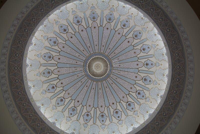 Abóbada artística da mesquita fotos de stock royalty free