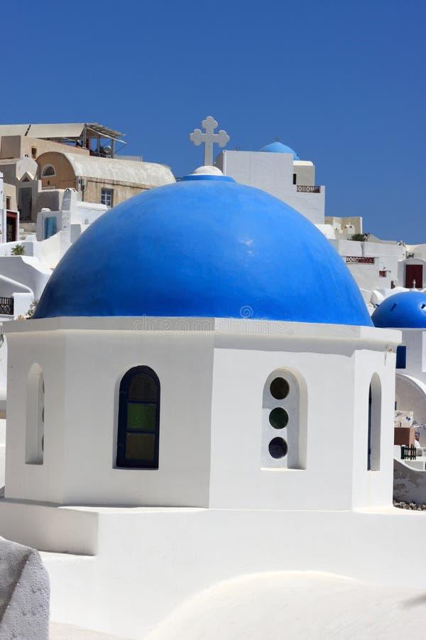 Download Abóbada azul foto de stock. Imagem de greece, abóbada - 16863834