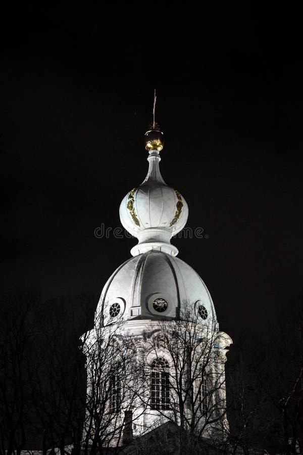 abóbada Catedral de Smolny fotografia de stock royalty free