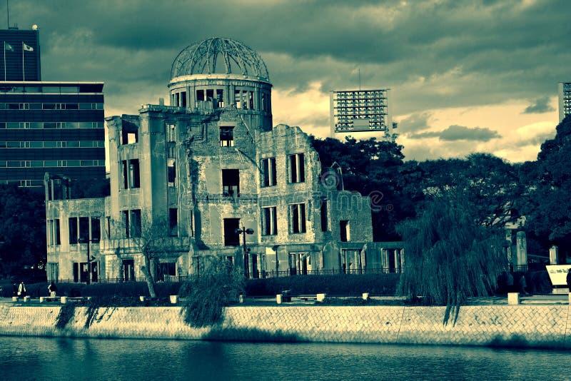 Abóbada da bomba atómica, Hiroshima imagem de stock