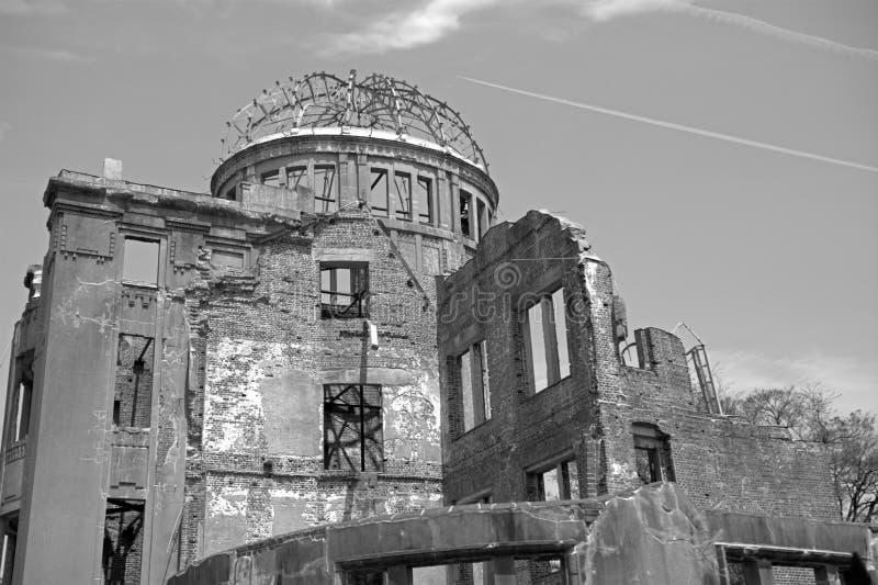 Abóbada da bomba atómica, hiroshima, Japão fotografia de stock