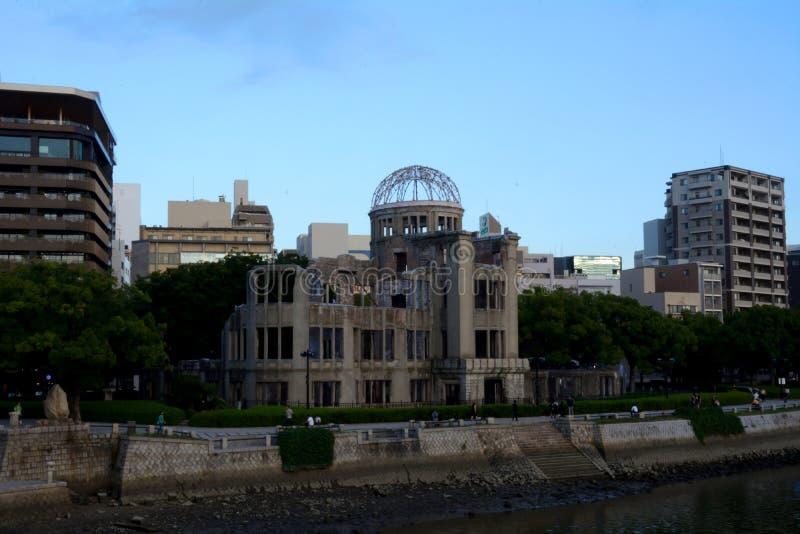 Abóbada da bomba atómica, hiroshima, Japão fotografia de stock royalty free