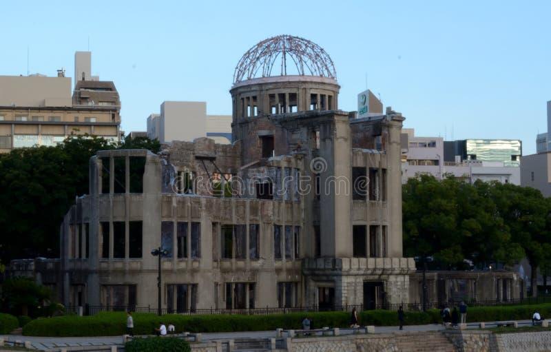 Abóbada da bomba atómica, hiroshima, Japão foto de stock