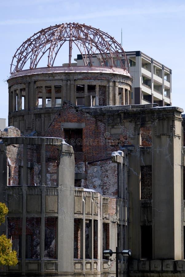 Abóbada da bomba atômica, Hiroshima, Japão fotografia de stock