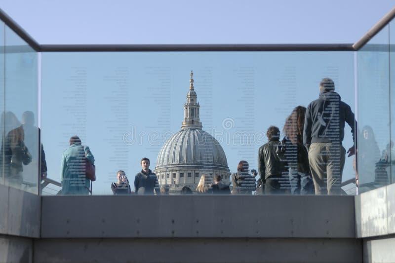 Abóbada da catedral de St Paul, Londres fotos de stock