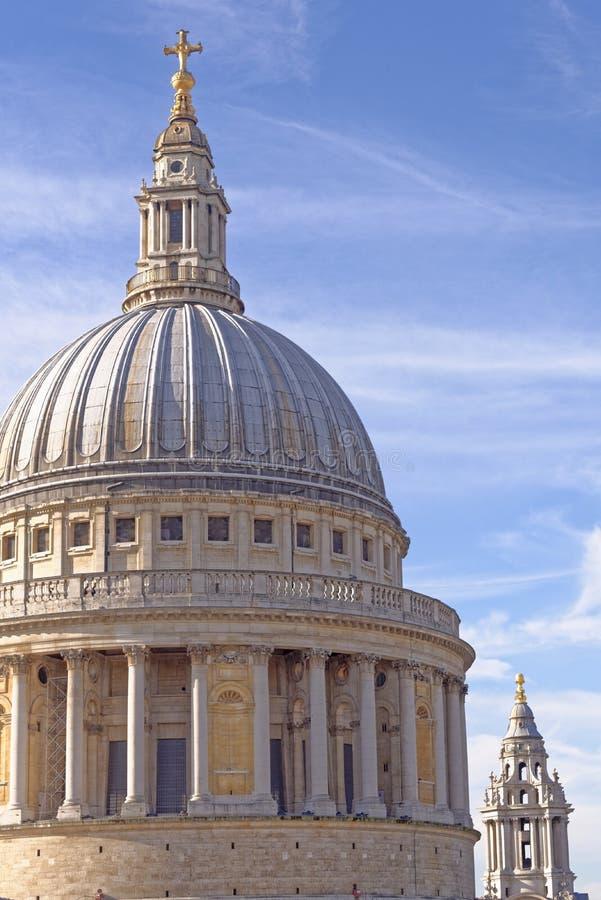 Abóbada da catedral do St Pauls imagem de stock royalty free