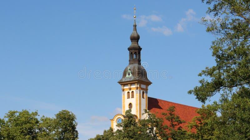 Abóbada da igreja de Neuzelle foto de stock royalty free