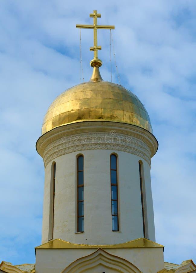 Abóbada da igreja de trindade em Trindade-St Sergius Lavra em Sergiev fotos de stock
