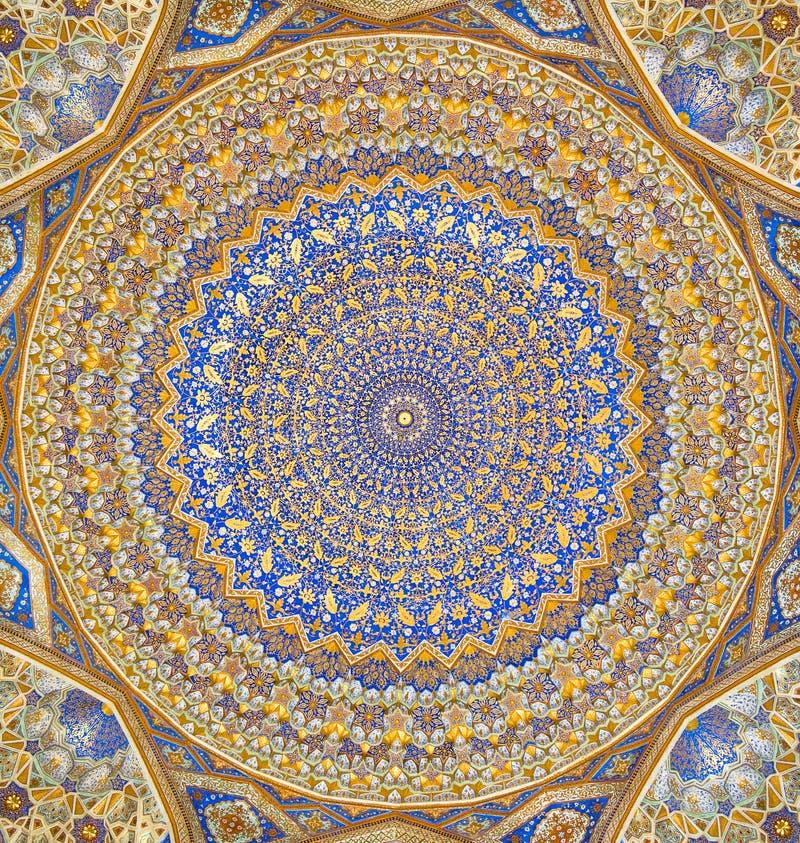 Abóbada da mesquita foto de stock