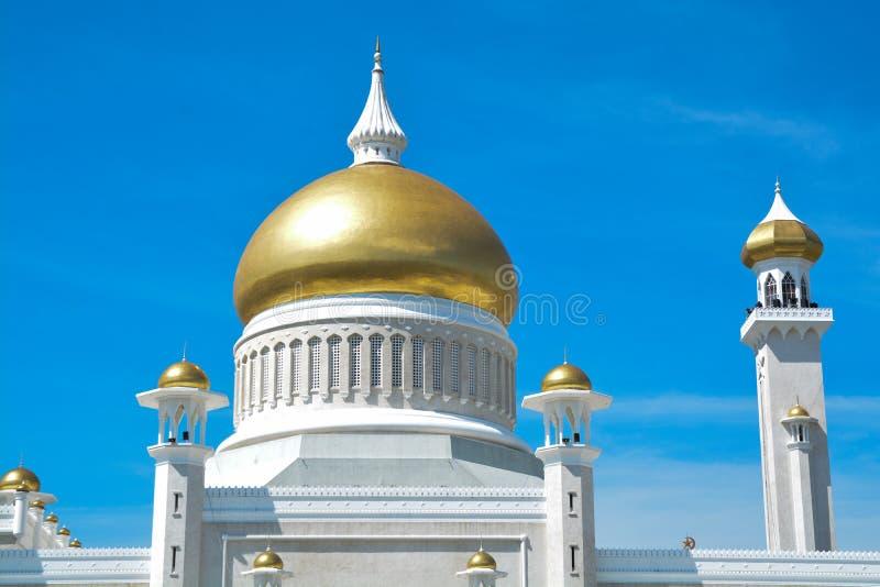 Abóbada da mesquita, Brunei Darussalam foto de stock