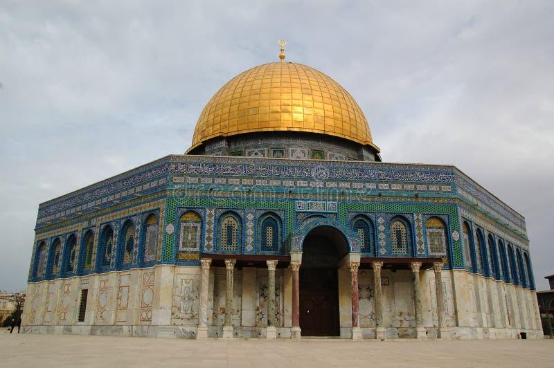 A abóbada da rocha no Jerusalém, Israel fotos de stock royalty free