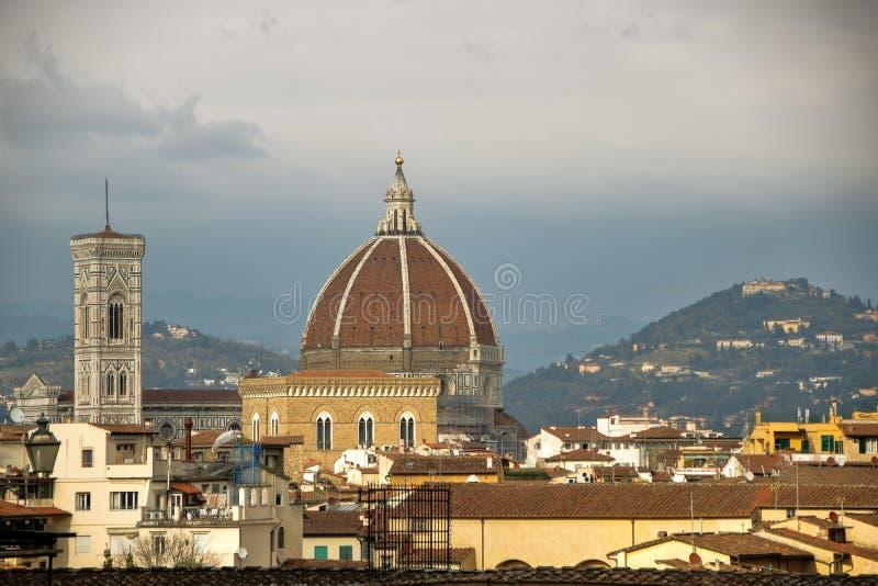 Abóbada de Brunelleschi foto de stock