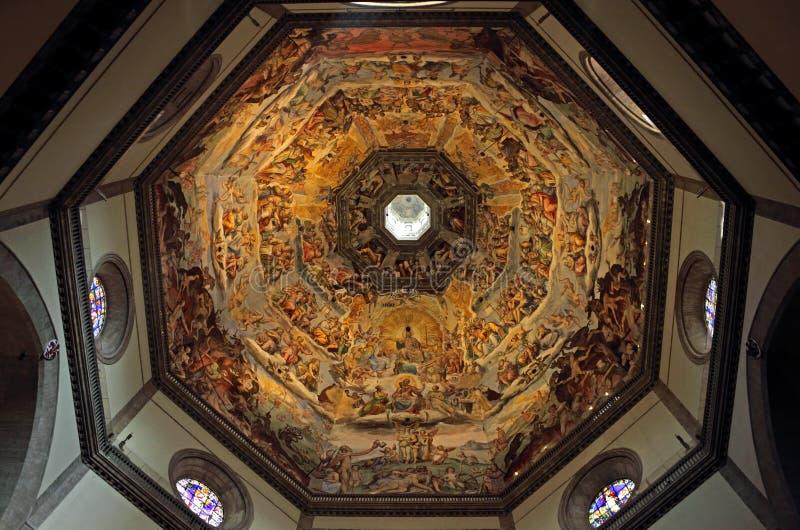 A abóbada de di Santa Maria del Fiore da basílica fotografia de stock royalty free