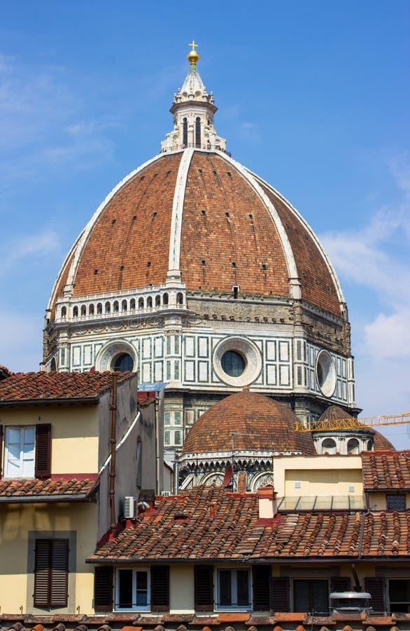 Abóbada de Florença de Brunelleschi fotos de stock royalty free