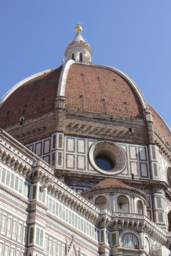 Abóbada de Florence Cathedral, Itália fotografia de stock royalty free