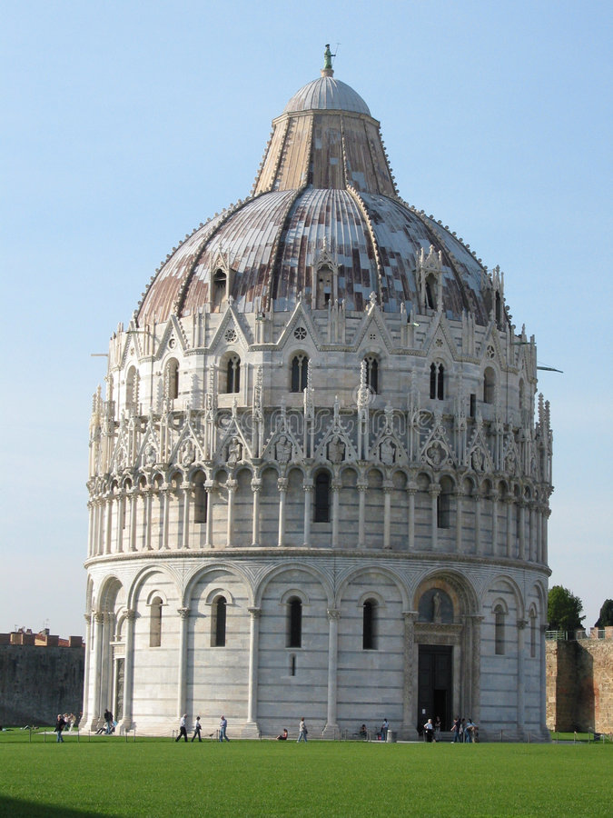 Abóbada de Pisa imagens de stock royalty free